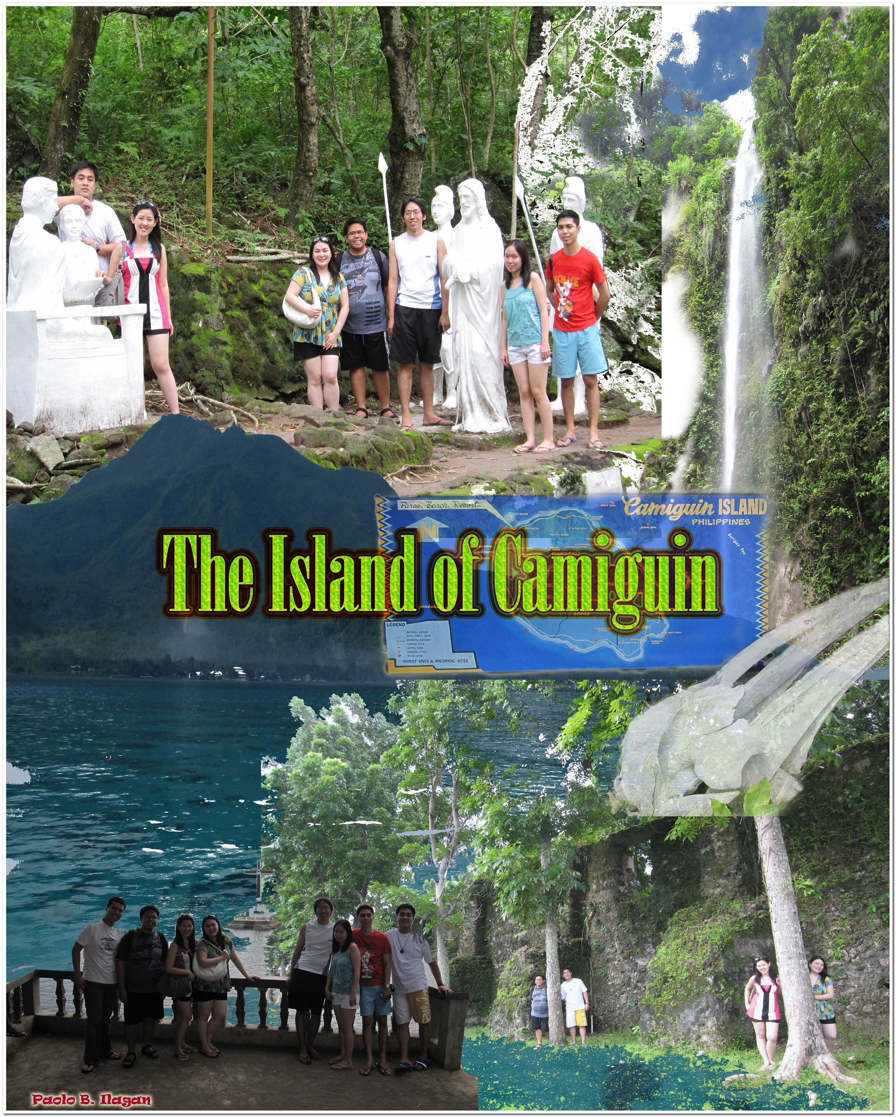 Camiguin Island: 1st Photoshop Artwork